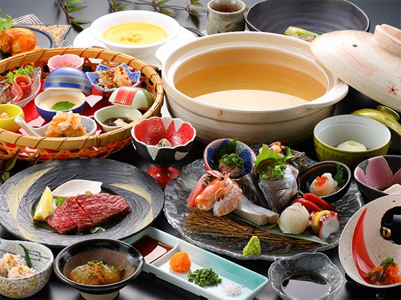 Seafood Shabushabu Course Meal
